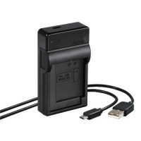 Hama USB-Ladegerät Travel für Canon NB-12L/13L