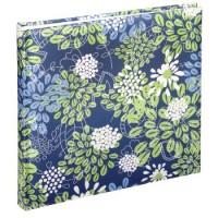 Hama Buch-Album Fioretto, 25x25 cm, 50 weiße Seiten, Blau