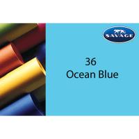 Savage Hintergrundpapier Ocean Blue 1.36x11m