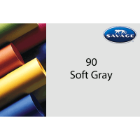 Savage Hintergrundpapier Soft Gray 1.35x11m