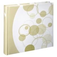 Hama Jumbo-Album Puntino, 30x30 cm, 80 weiße Seiten, Beige