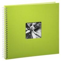 Hama Spiral-Album Fine Art, 36 x 32 cm, 50 weiße Seiten, Kiwi
