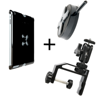Tether Tools iPad 3&4 Utility Mounting Kit: Wallee+EasyGrip LG