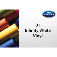 Savage Vinyl Hintergrund 1.52 x 2.13 m infinity weiss