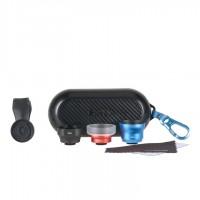 SIRUI WPM-01KBR Vorsatzlinsen Set 18-WA schwarz / 60-SA blau / MC-02 rot im Case mit Clip