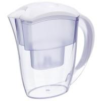Xavax Wasserfilterkanne mit 1 Filterkartusche, 2,4 l, Weiß