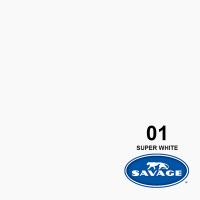 Savage Hintergrundpapier Super White 2.18x11m