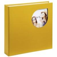 Hama Memo-Album Cumbia, für 200 Fotos im Format 10x15 cm, Chai Tea