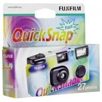 Fujifilm Quicksnap Einwegkamera mit Blitz für Farbfotos, 27 Aufnahmen