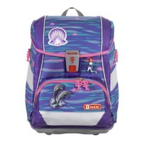 Step by Step 2IN1 PLUS Schulranzen-Set Shiny Dolphins, 6-teilig