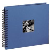 Hama Spiral-Album Fine Art, 36 x 32 cm, 50 schwarze Seiten, Azur