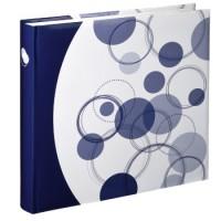 Hama Jumbo-Album Puntino, 30x30 cm, 80 weiße Seiten, Blau
