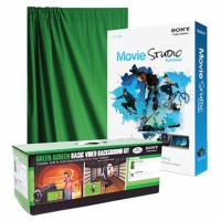 Savage Basic Green Screen Video Background Kit