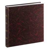 Hama Super-Jumbo-Album Birmingham, 33x35 cm, 100 weiße Seiten, Burgund