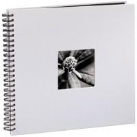 Hama Spiral-Album Fine Art, 36 x 32 cm, 50 schwarze Seiten, Kreide