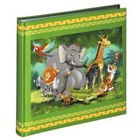 Hama Buch-Album Jungle Animals, 25x25 cm, 50 weiße Seiten