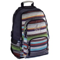 All Out Rucksack Louth, Waterfall Stripes
