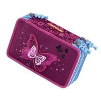 Step by Step XXL-Mäppchen FLASH Shiny Butterfly, 3 Fächer