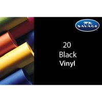 Savage Vinyl Hintergrund 2.75 x 6m schwarz
