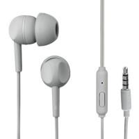 Thomson EAR3005GY Kopfhörer, In-Ear, Mikrofon, Grau