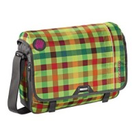 coocazoo Schultertasche HangDang, Hip To Be Square Green