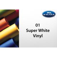 Savage Vinyl Hintergrund 2.75 x 6m infinity white