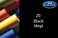 Savage Vinyl Hintergrund 3.04 x 6m schwarz