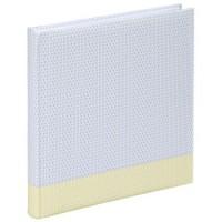 Hama Jumbo-Album Filigrana, 30x30 cm, 80 weiße Seiten, Pastellgelb
