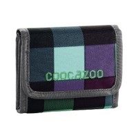 coocazoo Geldbeutel CashDash, Green Purple District