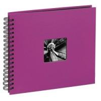 Hama Spiral-Album Fine Art, 36 x 32 cm, 50 schwarze Seiten, Pink