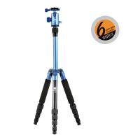 Sirui T-005X Dreibeinst. blau Alu m. Kopf C-10X