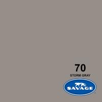 Savage Hintergrundpapier Storm Gray 2.18x11m