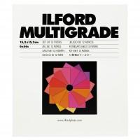 Ilford Multigrade-Filterset (mit 12 Filtern), 152x152 mm