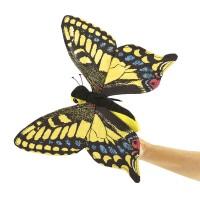 Folkmanis Handpuppe Schwalbenschanz Schmetterling