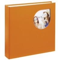 Hama Memo-Album Cumbia, für 200 Fotos im Format 10x15 cm, Golden Poppy