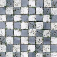 Savage Floor Drop - Aged Brick 2.4m x 2.4m