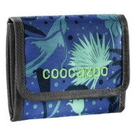 coocazoo Geldbeutel CashDash, Tropical Blue