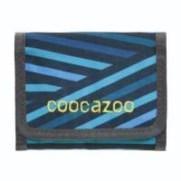 coocazoo Geldbeutel CashDash, Zebra Stripe Blue