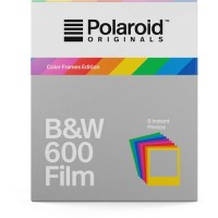 Polaroid Originals B&W Film für 600 Hard Color, 8 Blatt