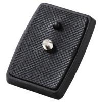 Hama Schnellkupplungsplatte für Dreibeinstativ Profil Duo, 150 - 3D