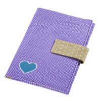 aha: Windeltasche mit Schnullerband, Girl´s Purple