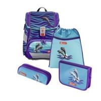 Step by Step 2IN1 Schulranzen-Set Happy Dolphins, 4-teilig