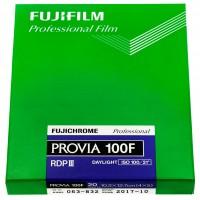 Fujifilm Fujichrome Provia 100F, 4x5 inch, 20 Blatt