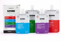 ilford Simplicity Film Kit mit Entwickler, Stopbad, Fix, Netzmittel