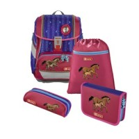 Step by Step 2IN1 Schulranzen-Set Lucky Horses, 4-teilig