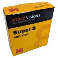 Kodak Vision 3 50 D 7203 Super 8, 15 Meter