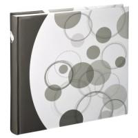 Hama Jumbo-Album Puntino, 30x30 cm, 80 weiße Seiten, Braun