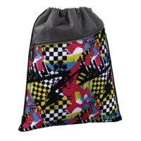 Coocazoo Sportbeutel RocketPocket, Checkered Bolts