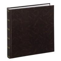 Hama Jumbo-Album Birmingham, 30x30 cm, 100 weiße Seiten, Braun