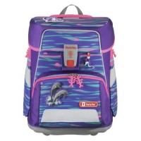 Step by Step SPACE Schulranzen-Set Shiny Dolphins, 5-teilig